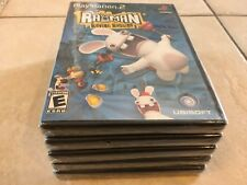 Rayman Raving Rabbids (Sony PlayStation 2, 2006) PS2 NEW