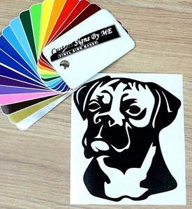 Boxer Dog Wall Car Sticker Vinyl Decal Adhesive Bumper Window Door Laptop Black