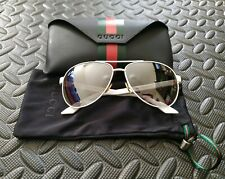 Gucci Occhiali da Sole GG 2898s White Sunglasses BUONE CONDIZIONI GOOD CONDITION