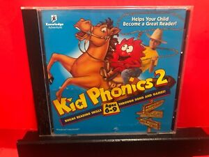 Kid Phonics 2 Help Your Child Become A Great Reader CD ROM- B638