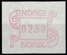 Noorwegen postfris automaatzegels 1986 MNH A3 (03)