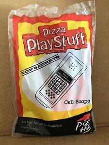 Pizza Hut Kids Toy, Pizza Play Stuff Cell Scope Toy