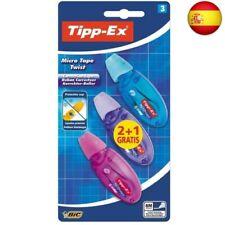 Tipp-Ex Micro Tape Twist Cinta  (Multicolor, 3 unidades, Cinta correctora)