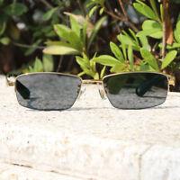 Men's Semi Rimless Titanium Frame Photochromic Reading Glasses +0.00 to +4.00