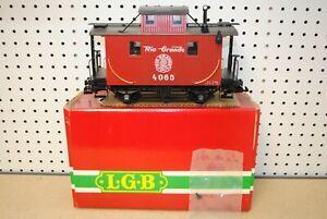 LGB 4065 Rio Grande Caboose Car *G-Scale* (2)