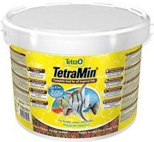 Tetramin XL 10 LITRES Seau Nourriture pour Poisson Tetra Min Aliment en Flocons