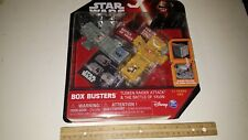 STAR WARS BOX BUSTERS TUSKEN RAIDER ATTACK & BATTLE OF YAVIN SEALED IN PACKAGE