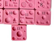 Multi Usage Miniature Silicone Mold Mini Chocolate Baking Tool for Cake Fondant