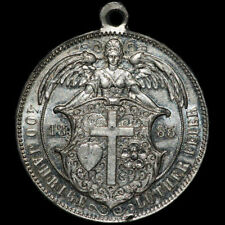 REFORMATION: Zink-Medaille 1883. 400. GEBURTSTAG REFORMATOR MARTIN LUTHER.
