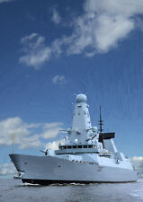 HMS DUNCAN - HAND FINISHED, LIMITED EDITION (25)