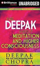 NeW 4 CD Ask Deepak about Meditation and Higher Consciousness Deepak Chopra