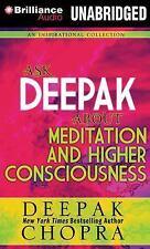 NeW 4 CD Ask Deepak about Meditation and Higher Consciousness Deepak Chopra