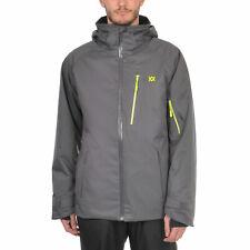 VÖLKL Herren Winter Funktions Ski Jacke TEAM PREMIUM Iron Grey 70012101 Gr. 3XL