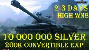 World Of Tanks l 10 MLN CREDITS l 200 000 XP l  2-3 DAYS l NOT BONUS CODE l WOT