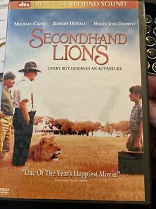 Secondhand Lions DVD EB1 Michael Caine, Robert Duvall disk might be Asian Reg 1