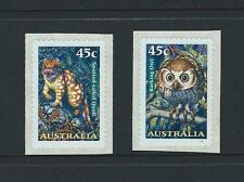 AUSTRALIA 1997 Nocturnal Animals 'SNP CAMBEC' S/Adhesive Set Mint (SG 1720-1721)