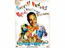 RUSSELL PETERS RED WHITE AND BROWN DVD BRAND NEW COMEDY FREE POST!