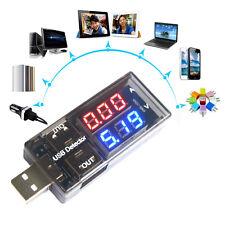 USB Charger Doctor Tester Dual Display Strommessgerät Stromzähler Voltmeter Neu