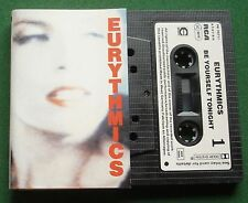 Eurythmics Be Yourself Tonight inc Would I Lie To You + Cassette Tape - TESTED
