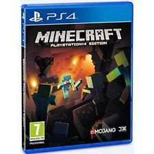 Videogioco MINECRAFT PS4 Gioco Sony Mine Craft Playstation 4 Italiano Pal NUOVO