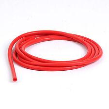 "10 mm 3/8"" Red Vacuum Silicone Hose Racing Line Pipe Tube 1 Foot 0.3 Meter"