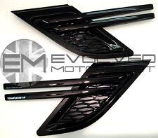 EVOLVED GLOSS BLACK RANGE ROVER SPORT L494 2014 SIDE VENT STEALTH KIT! E2