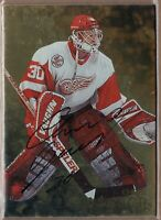CHRIS OSGOOD 1998/99 BAP Be A Player *GOLD* AUTO Autograph RED WINGS LEGEND!
