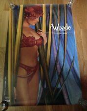 AUBADE Advertising Poster 93cm x 63cm Sexy Lingerie Nude, Sortilége Colour