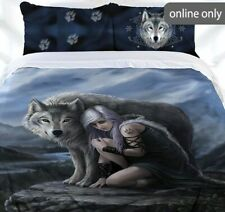ANNE STOKES - THE PROTECTOR  KING Bed Quilt/Doona Cover Set