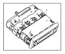 More details for john deere al211465 / al214317 radio to fit tractors -brand new but shop soiled.