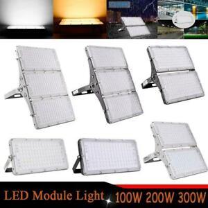 Modul LED Fluter 100W 200W 300W Scheinwerfer Flutlicht Aussenstrahler Straßen DE