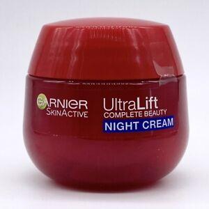 Garnier Naturals UltraLift Night Cream 50ml NEW Broken Seal Damaged Box #1270