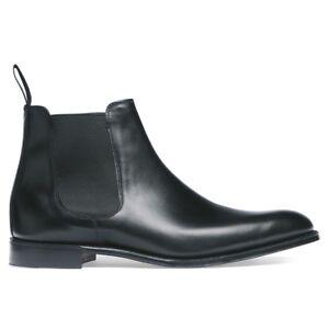 Men Handmade Black Leather Chelsea Boots Formal Ankle Jodhpur Boots