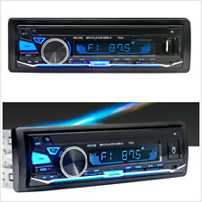 Vintage Car Radio Modern Bluetooth MP3 Player AUX USB Classic Stereo With Remote