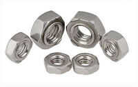 304 Stainless Steel Select Size M3 - M12 Hex Weld Nuts Right Hand Thread