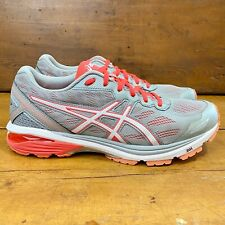 Asics GT-1000 5 Gray Athletic Road Running Sneakers Womens Size 9.5 Shoes T6A8N
