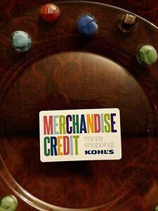 KOHLS GIFT CARD OVER $500 + EARN $100 KOHL'S CASH READ TRUSTED SELLER