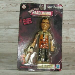 Horror Headliners The Texas Chainsaw Massacre Leatherface Super-Poseables