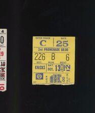 10/13/1973 Houston Rockets @ New York Knicks NBA Basketball Ticket Stub