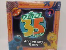 Sesame Street 35 Years Anniversary Game 2004 Sesame Workshop New Sealed