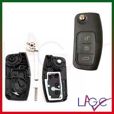 Chiave di Ricambio per Ford Fiesta Kuga Ka S-Max C-Max Telecomando a 3 Tasti