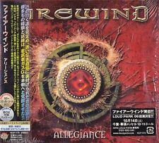 Firewind Allegiance Japan CD 2 Bonus Obi Sticker Slipcase 2006 KICP-1175