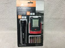 Ozark Trail Led Flashlight and 2-In-1 Camp Light Combo