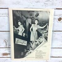 Vintage 1946 Berkeley Junior Co Inc Starlight Dress Original Fashion Print Ad