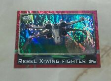 topps uk star wars rogue one card REBEL X-WING FIGHTER