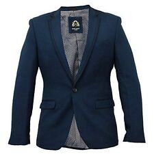 Polyester Blazers Regular Size Coats & Jackets for Men