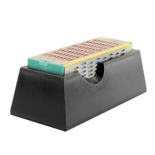 Diamond Sharpening Stone Whetstone Cutter Sharpener Block 4 Grit Sides