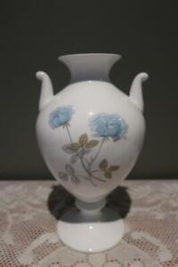 Wedgwood Bone China Large Vase - Ice Rose - Urn Shape - Collectable - Vgc