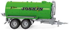 WIKING Modell 1:87/H0 JOSKIN Vakuumfasswagen 2-achs Anhänger grün #038238 NEU