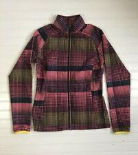 Slazenger Golf Jacket Zip Up Athletic Hiking Womens Size XS Pink Black